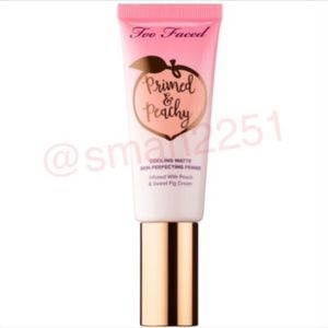 🔝5 for 25💖Too Faced Primed+Peachy Cooling Primer